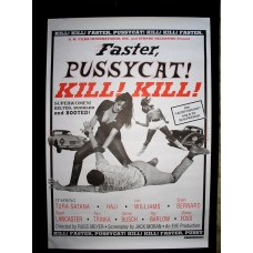 Faster Pussycat Poster Version 1